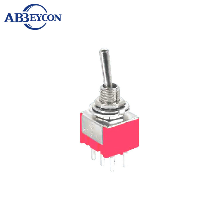 Air Conditioning Appliance Parts Popular Brand Ac 125v 6a Dpdt On-on 2 Positions 6-pin Latching Miniature Toggle Switch 10 Pcs Hot Sale 50-70% OFF