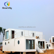 small prefab houses 2-story container house light steel villa