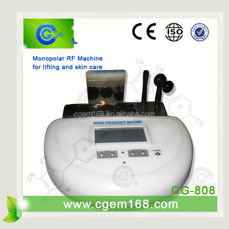 CG-808 Portable short wave diathermy for Skin lifting anti-wrinkle