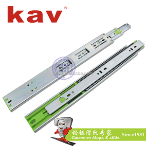 45315F12 inch kitchen cabinets ball bearing drawers glide push opening dresser drawer slide