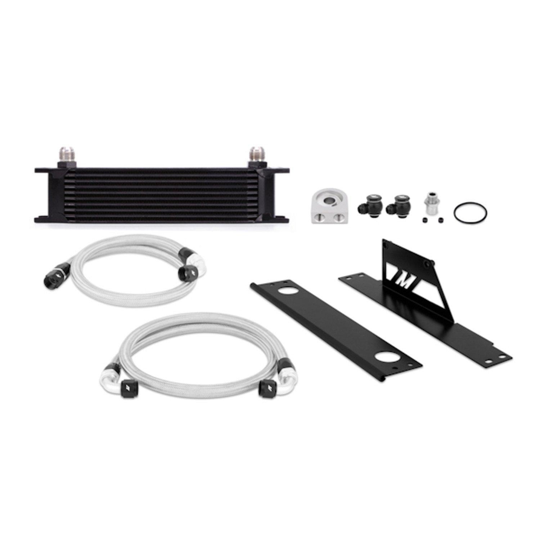 Mishimoto MMOC-WRX-01BK Black Oil Cooler Kit for Subaru WRX and STI