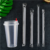 Disposable Transparent Plastic Milkshake Boba Straws