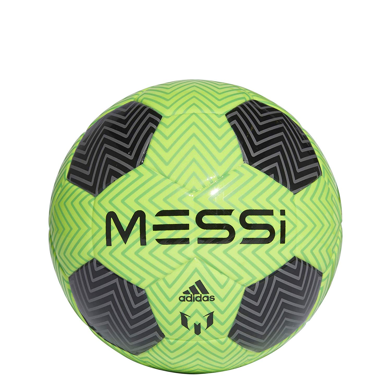 quality design 6b245 dc55b Get Quotations · adidas Men Soccer Football Lionel Messi Q3 Mini Baby Ball Size  1 CW4175 Training Game