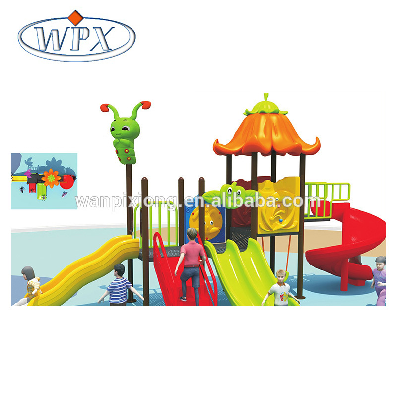 Popular design toddler mini outdoor playground for sale