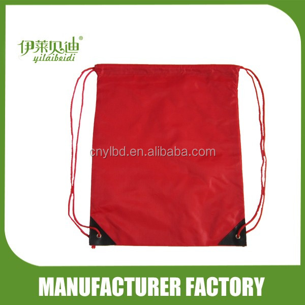Wholesale Supply Stock Promotional Drawstring Bag Backpack Manufacturer