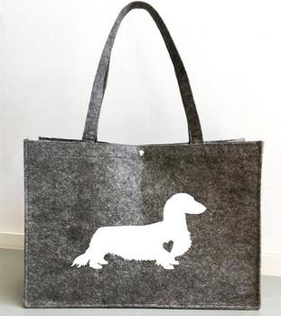 Bolso vaquero de perro personalizado para mujer, bolso de