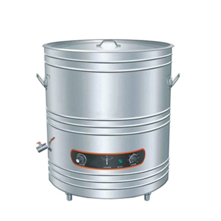 K662 Interlayer Insulation Direct-heated Electric Kitchen Soup Kettle for Soup and Porridge Warming