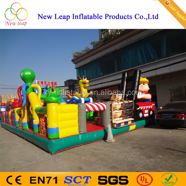 Popular Giant inflatable playground,indoor amusement park games for kids