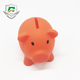 China factory wholesale cheap customized cartoon pig shape saving money box for children