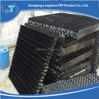 Top quality cooling tower air intake louver, drift eliminator manufacturer, Air inlet louver for cooling tower part