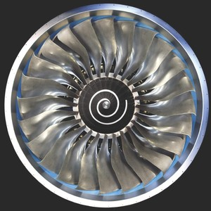5axis cnc milling MAZAK centrifugal impeller fan blade