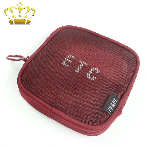 Mini Korea Style See Through Travel Make up Pouch