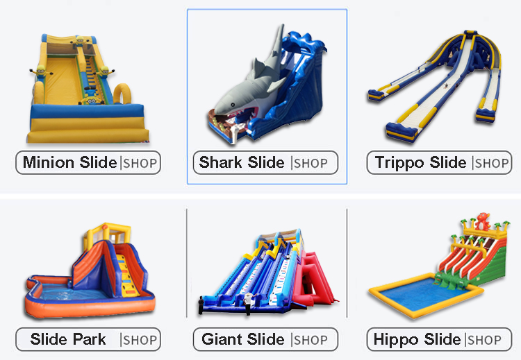 Customized Wholesale  price  Outdoor Inflatable Stairs  Slide For Children,adult for fun