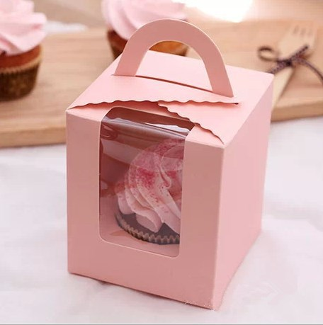 Online Buy Wholesale Pink Cupcake Boxes From China Pink