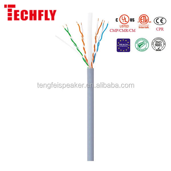 UTP CAT6a BC networking LAN Cable 305m/box (CE,UL,CPR,RoHS)
