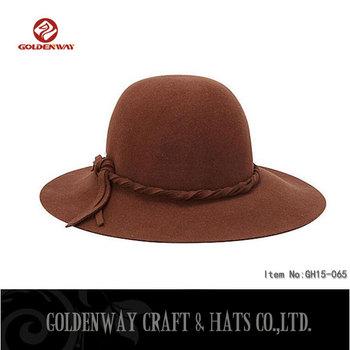 2016 Hot New Product Fedora Mountain Man Felt Hat - Buy Fedora ... 1db4f733b6e