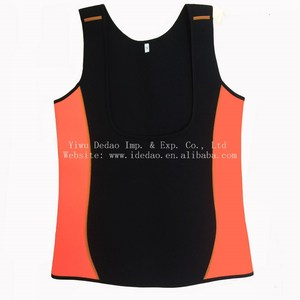 Neoprene slimming suit vest neoprene vest Body Slimming Sleeveless Undershirt