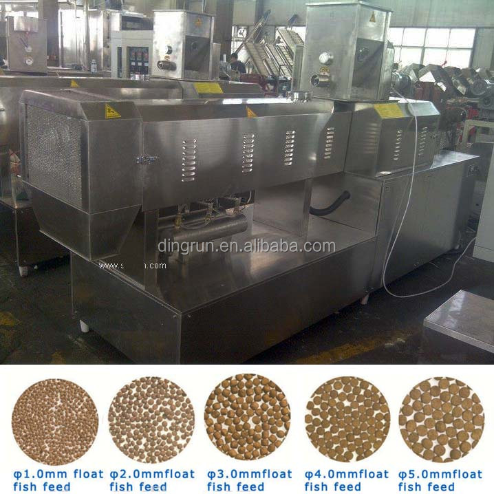 automatic dry fish feed pellet processing line price