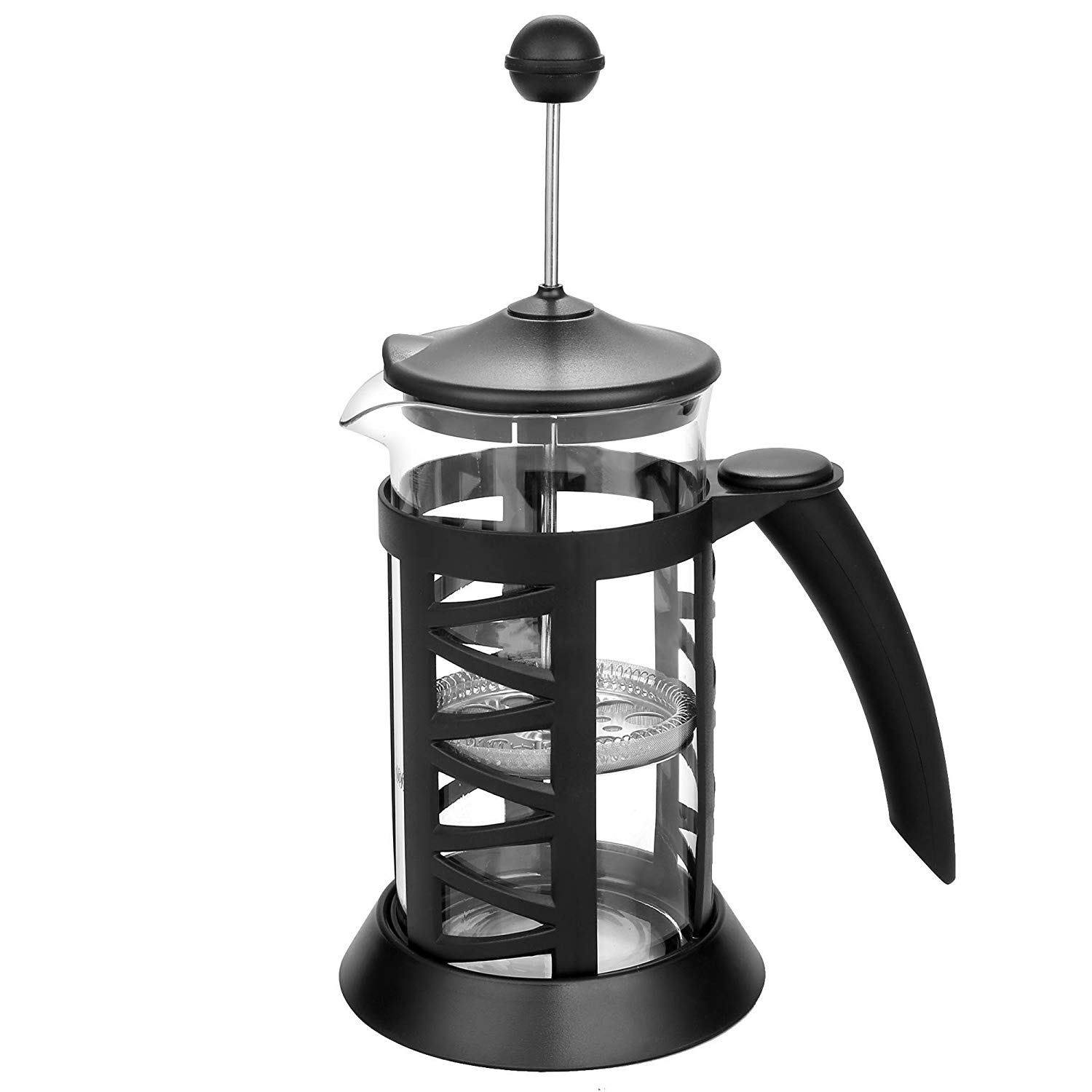 Opino French Press Coffee Maker 34 oz/8 Cup (1 Liter) Espresso with Stainless Steel(US Stock)