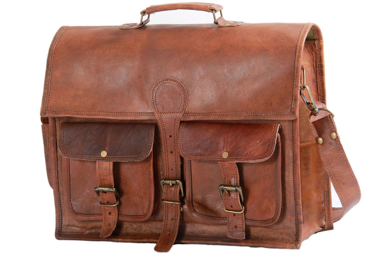 31ee23b74d7 Get Quotations · Phoenix Craft Vintage Large Leather Shoulder Bag Women  Diaper Bag Travel Satchel Bag Laptop Shoulder Bag