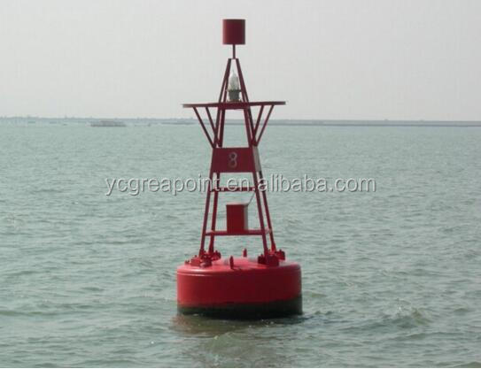 Marine Steel Navigation Buoys with Solar light