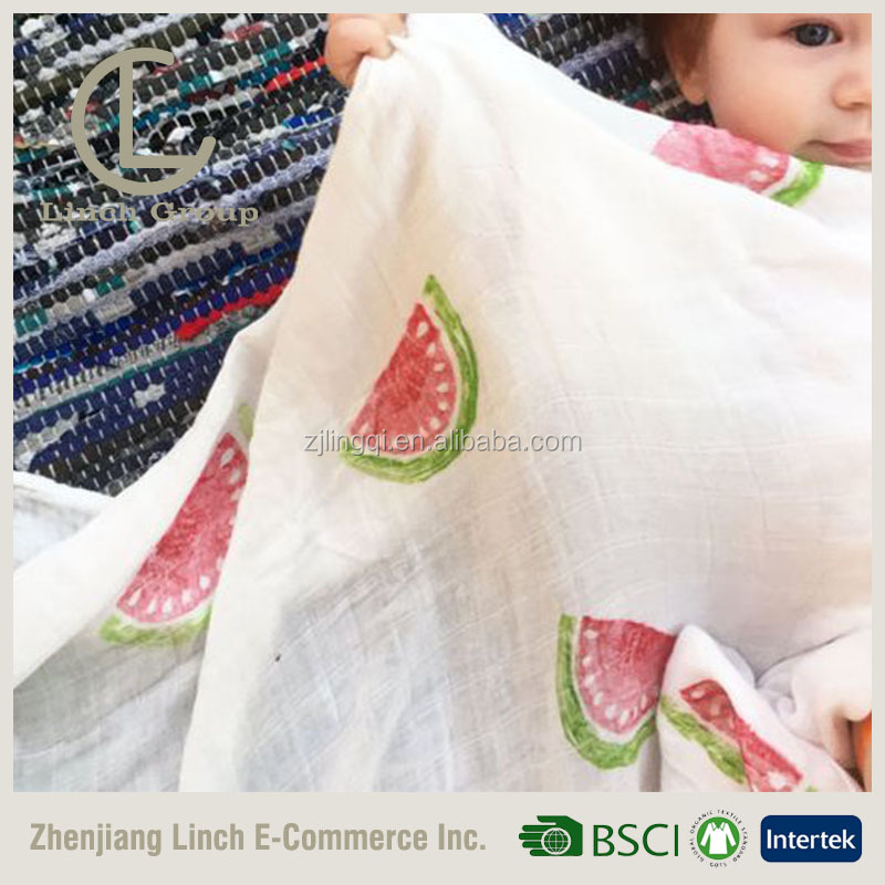 LC B-248 100% Cotton Muslin Dream Blanket bamboo muslin swaddle