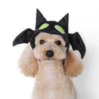 Black Funny Pet Hat Cute Halloween Bat Dog Hat