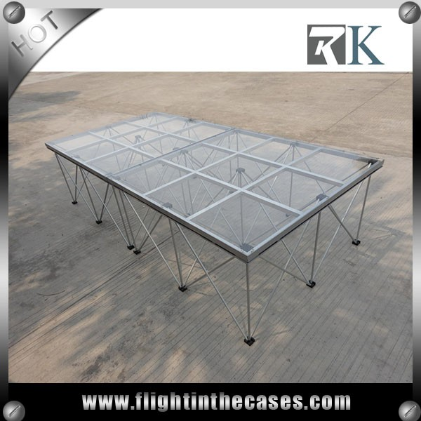 outdoor concert stage glass stage wedding stage for sale