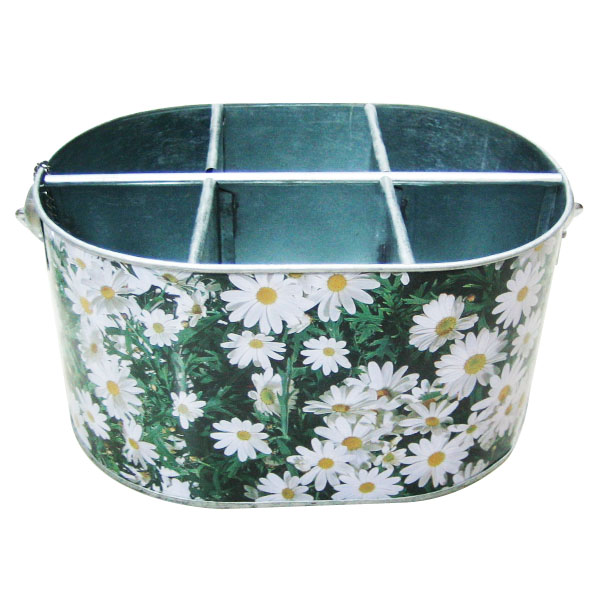 metal tin wine ice bucket