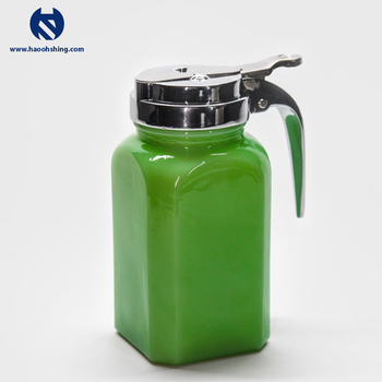 Microwaveable Syrup Dispenser Plastic Oil And Vinegar