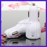 Newest product universal 2.4A 2 port car charger usb mobile phone portable usb charger