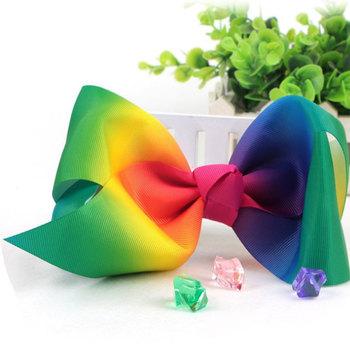 Custom Head Flower Accessories Ribbons Large Bow Hair Clip Creative