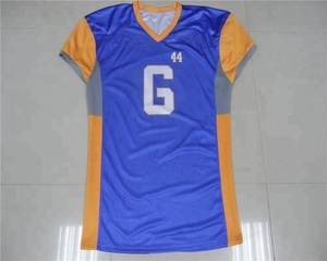 Fully sublimated team custom american football jersey top design
