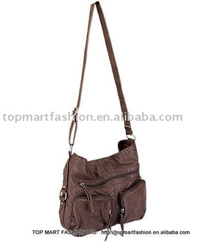 e3d3aa58fd9e Ladies  Washed Fashion Handbag And Oversized Crossbody Bag ...