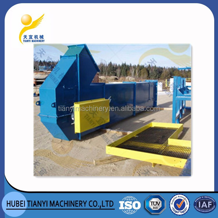 Vertical energy saving bulk cement bucket elevator heavy lift transportation