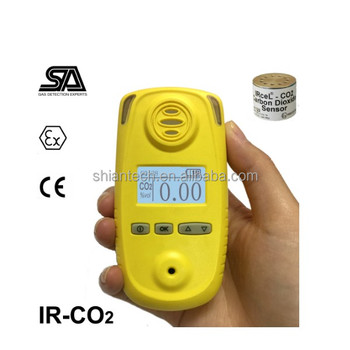 Infrared CO2 gas detector ,Carbon Dioxide detector with 0-5% and 0-100%vol, Import sensors