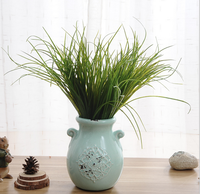 High simulation grass artificial plants material for flower arrangement and interior decoration
