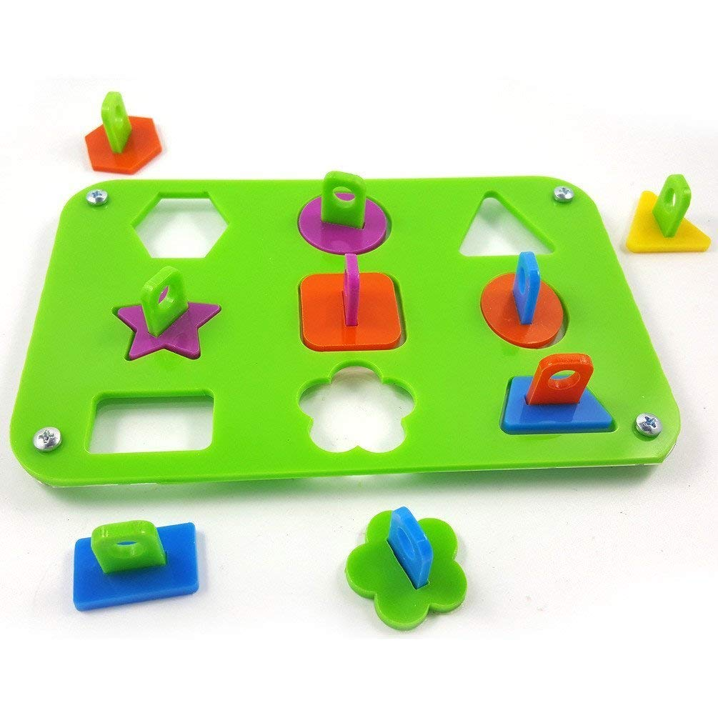 Hapa Parrot Puzzle Toy Bird Ring Toy Color Fencing Training Intelligence Development Interactive Puzzles Bird Educational Toys