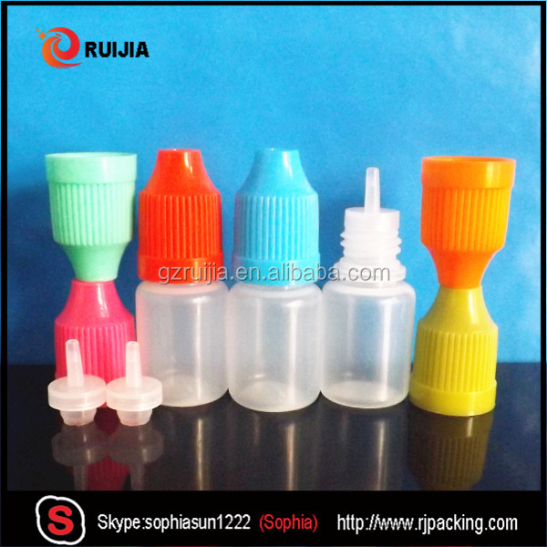 10 ml plastic bottles 10 ml eye drop bottles 10ml clear dropper bottles