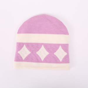 Wholesale customized WHOLEGARMENT SEAMLESS baby/adult knitted reversible hat&caps