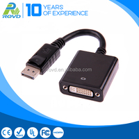 Two-way display connectivity Displayport male to DVI female cable adapter