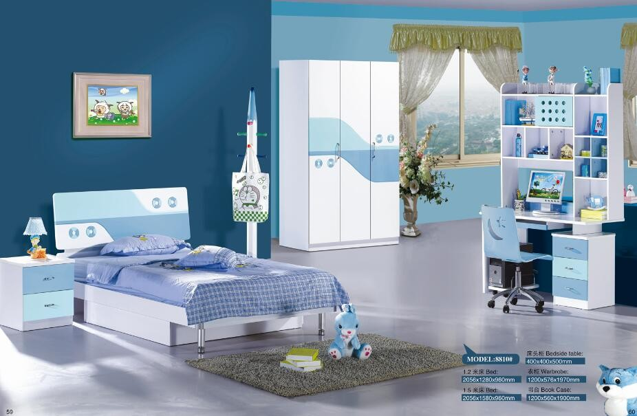 wholesale fashionable cheap kids bedroom furniture sets
