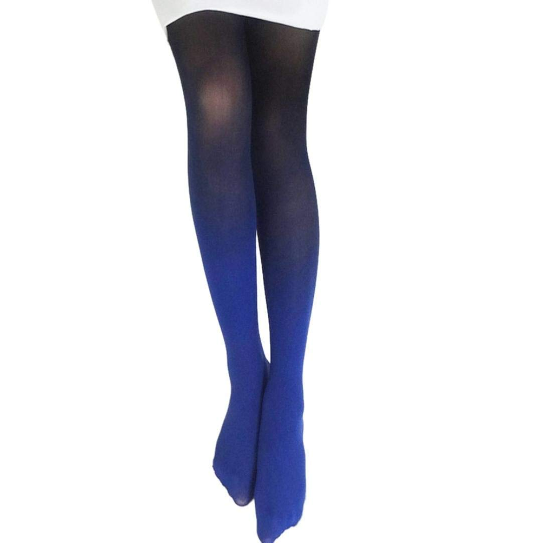 0c65f3facd502b Get Quotations · Women Sexy Hose Colorful Slim Tube Dresses Tights High  Waist Thigh-High Fishnet Stockings Pantyhose