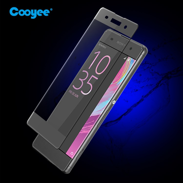 2016 new premium!! 3D curved 9H tempered glass screen protector for sony xperia p lt22i/ c c2305 s39h