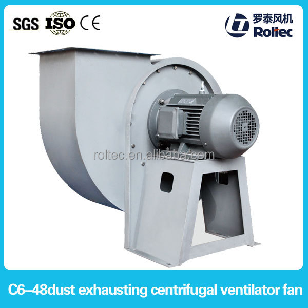 C6-48 dry centrifugal fans dust removal blower fan for fireplace