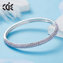 cuff bangle factory wholesale simple fashion latest design daily wear women fancy crystal bracelet bangle
