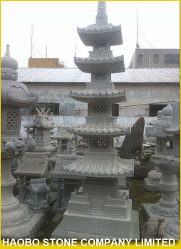 Haobo Grey Stone Garden Pagoda