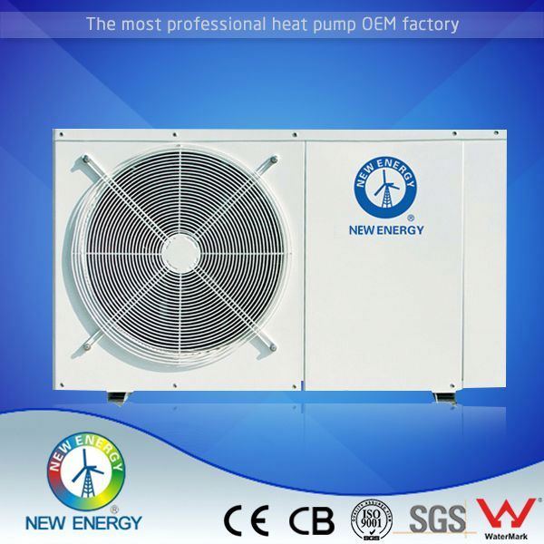 Air to water heat pump water heater wall mounted air source heat pump