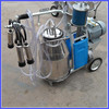 portable milking machine for goats and cow