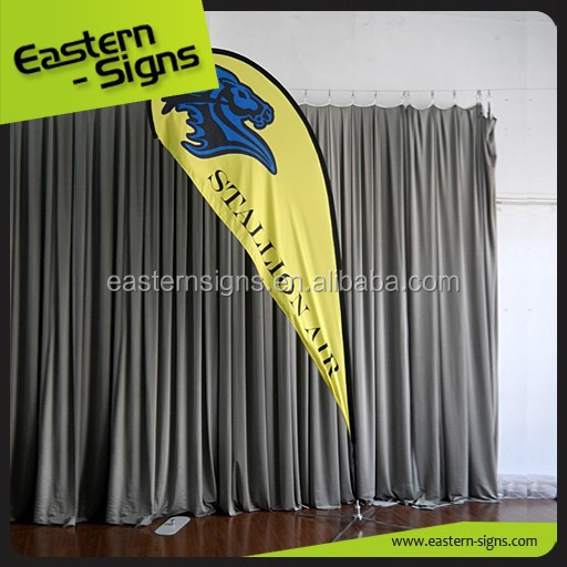 Teardrop Outdoor Promotion Garden Flags Wholesale